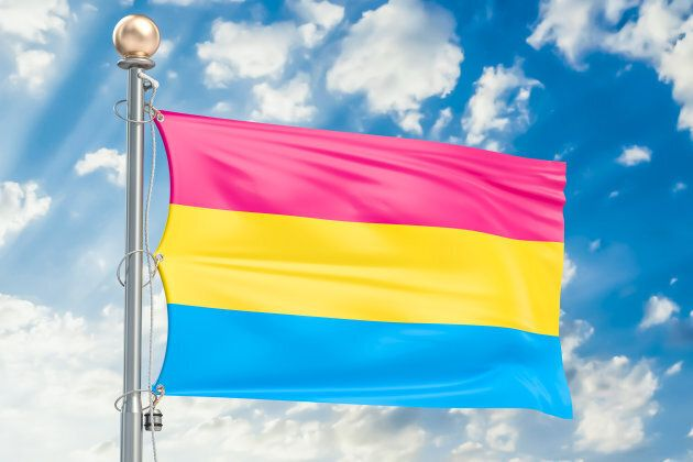 Le drapeau de la Fierté pansexuelle