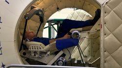 Pas tensions politiques dans la capsule spatiale