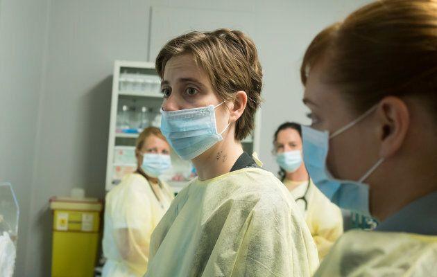La dernière saison d'«Unité 9» sera intense, promet Danielle
