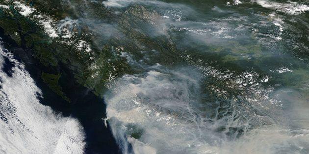 Feux de forêts : Vancouver suffoque, pas d'amélioration prévue à court