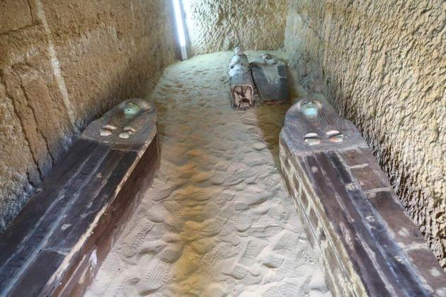 Αίγυπτος: Ανακάλυψη νεκροταφείου και σαρκοφάγων 4.500 ετών στη