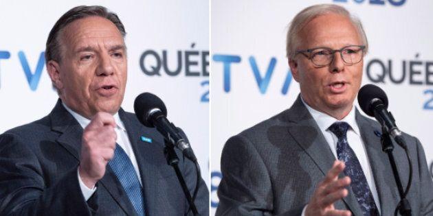 Face-à-Face TVA: Jean-François Lisée et François Legault se crêpent le chignon sur la souveraineté et...
