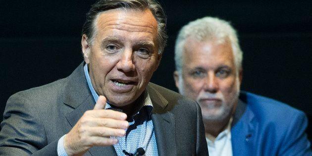 Le Parti libéral du Québec de Philippe Couillard continue de chauffer la Coalition avenir Québec de François...