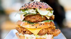Les 12 burgers les plus cochons de la Semaine du