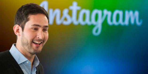 Les cofondateurs d'Instagram, Kevin Systrom et Mike Krieger