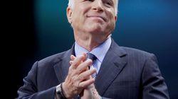 Le sénateur américain John McCain est