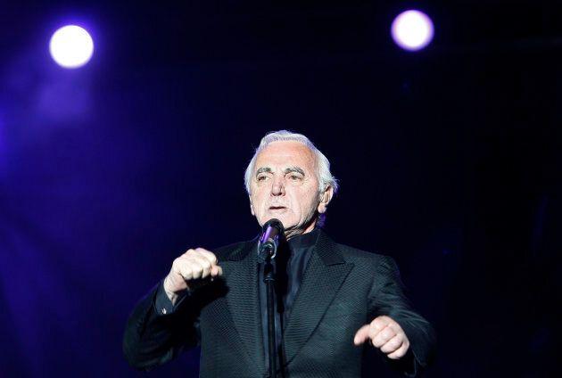 Aznavour en spectacle au Festival d'été de Québec en juillet