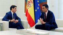 Rivera comunica a Sánchez su