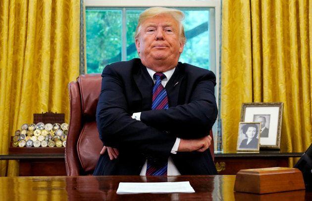 Donald Trump est satisfait de son accord avec le