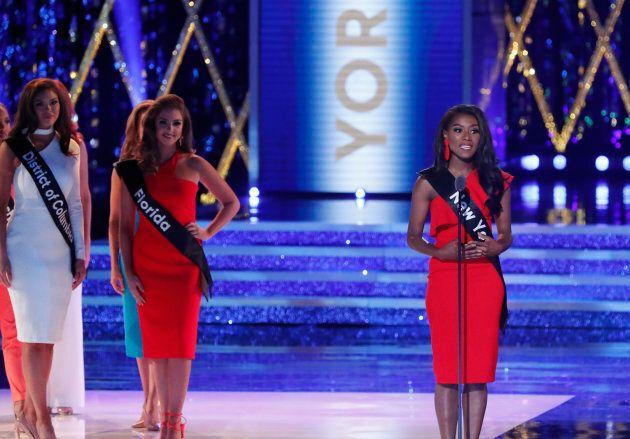La nouvelle Miss America fière de gagner sans se montrer en