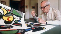 Une exposition du peintre Miró à ne pas