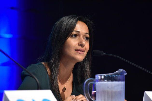 Ruba Ghazal, candidate de Québec solidaire dans