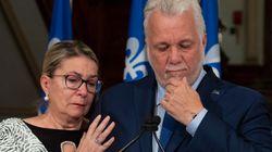 Philippe Couillard démissionne et quitte la vie