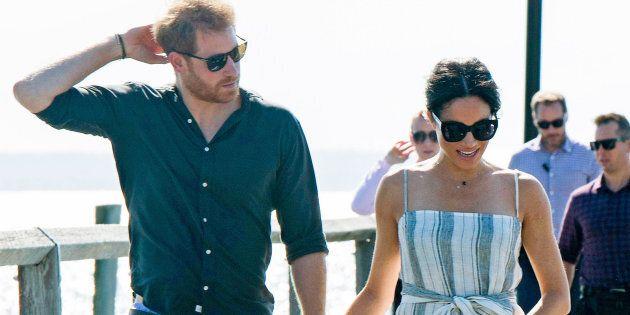 Le prince Harry en solo à Sydney alors que l'horaire de Meghan Markle est