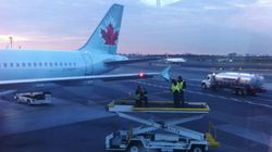 Un avion d'Air Canada impliqué dans une collision à New