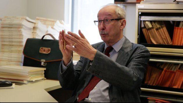 Marc Termote, professeur de démographie à l'Université de Montréal et spécialiste des mouvements migratoires