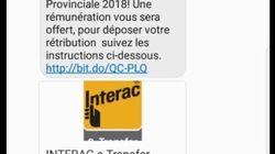 Non, Élections Québec n'offre pas une rémunération pour aller