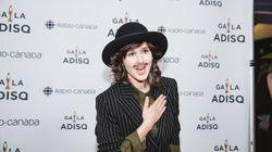 Gala de l'ADISQ 2018: Klô Pelgag affiche une moustache assortie à sa