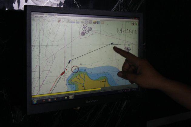 La Marine indonésienne est en charge des opérations de