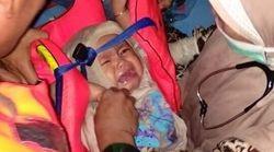 Non, ce bébé n'est pas rescapé de l'écrasement de l'avion de Lion