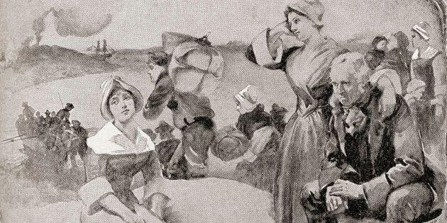 L'expulsion des Acadiens, aussi nommée le grand bouleversement, la grande expulsion et le grand dérangement. Le renvoi par les Britanniques du peuple acadien des provinces maritimes actuelles de la Nouvelle-Écosse, du Nouveau-Brunswick et de l'Île-du-Prince-Édouard, au cours de la guerre de France et de la guerre de l'Inde, 1755-1764.