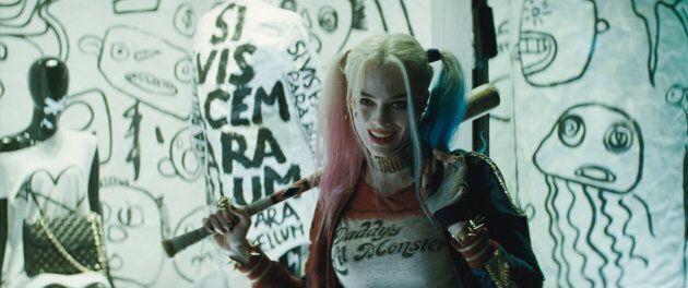 Margot Robbie en Harley Quinn dans le film