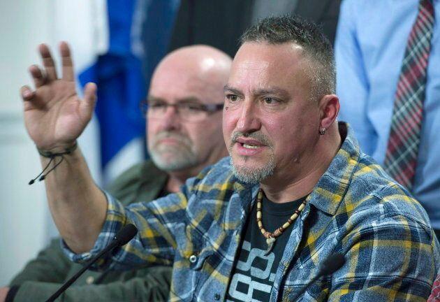 Le syndicaliste Bernard Gauthier a été acquitté pour avoir participé au blocus du chantier de la rivière