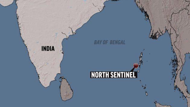 Localisation géographique de l'Île North