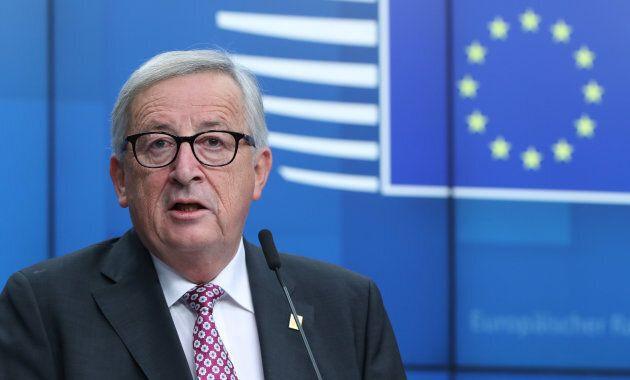 Le président de la Commission européenne Jean-Claude