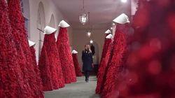 Les sapins de Noël de la Maison-Blanche font penser à des films