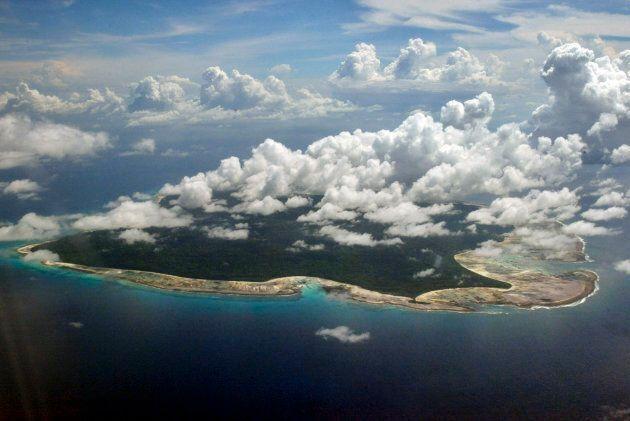 Photo d'archives de 2005 de l'île North