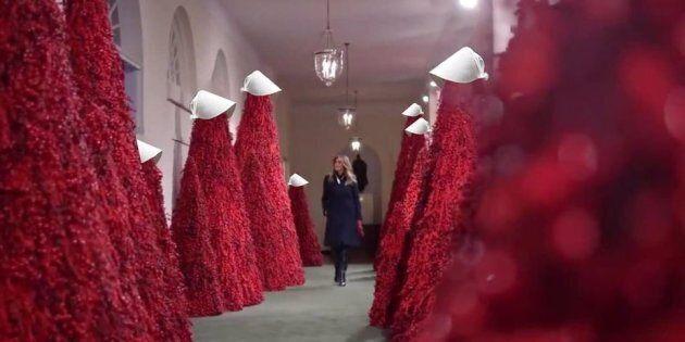 Sur Twitter, les décorations de Noël ont davantage inspiré l'horreur que la fête.