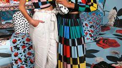 Alice + Olivia : très colorée cette collection qui fait le tour du