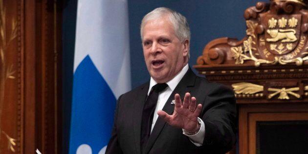 François Paradis est le nouveau président de l'Assemblée