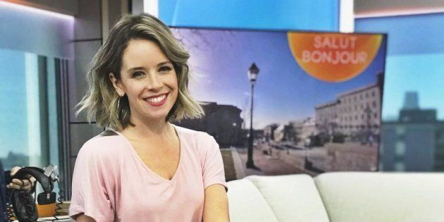 La chroniqueuse de «Salut Bonjour» Sabrina Cournoyer dénonce une situation