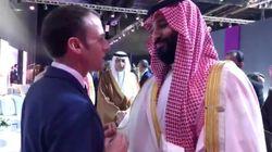 Échange pour le moins tendu entre le président français et le prince héritier