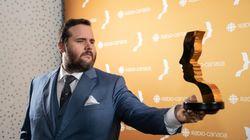Prix Gémeaux 2018: Antoine Bertrand signe le plus beau discours de