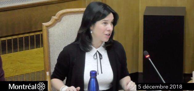 Valérie Plante s'est excusée mercredi pour un discours prononcé entièrement en anglais la