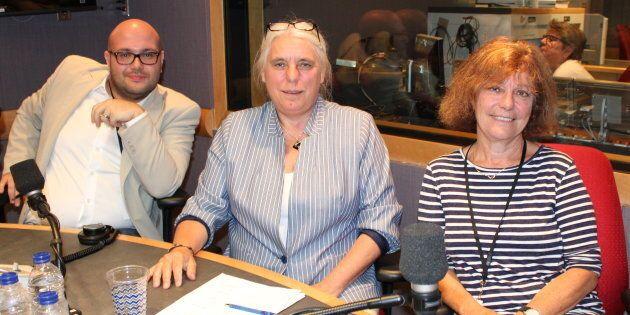 Vincent Geloso, Manon Massé et Diane