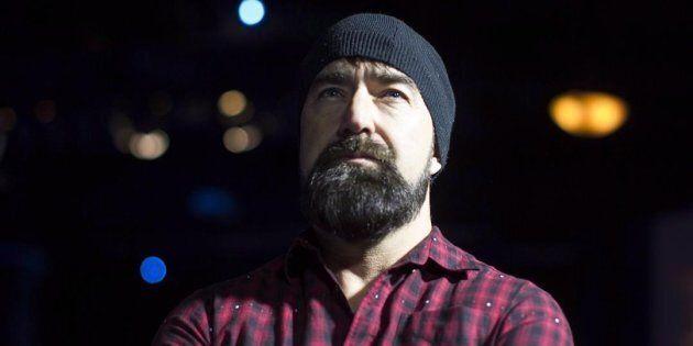 Mike Taylor, connu sous le surnom de «Beard Guy», le 2 février