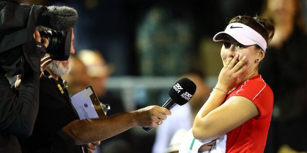 Contre toutes attentes, la Canadienne Bianca Andreescu atteint la demi-finale de la Classique