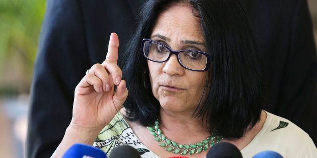 La nouvelle ministre de la Femme, de la Famille et des Droits de l'Homme du Brésil, Damares