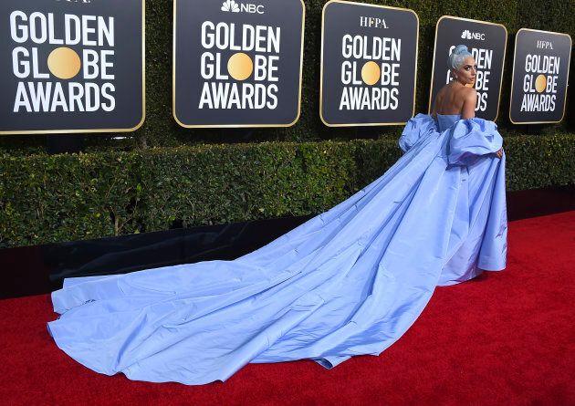 Lady Gaga, tous amoureux de la dame en bleu aux Golden