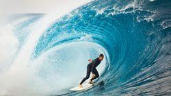Voici ce que voient les surfeurs quand ils prennent une (grosse)
