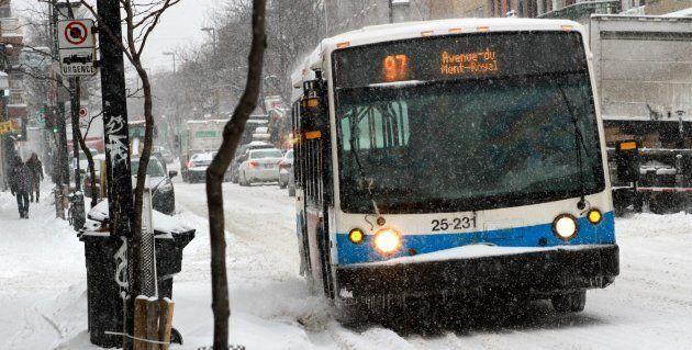 STM: le métro en panne et les bus plus en retard que