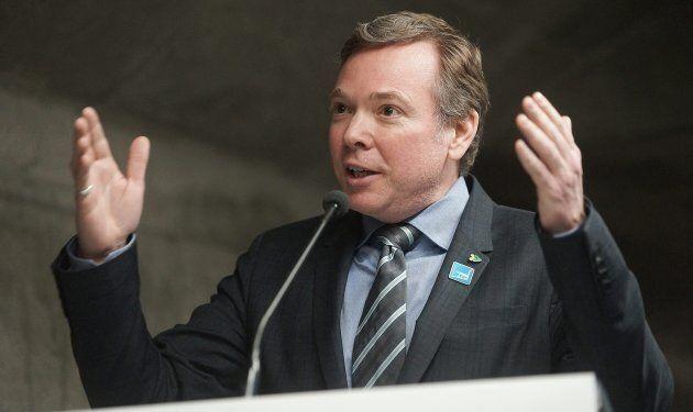 Philippe Schnobb, président de la Société de transport de Montréal.