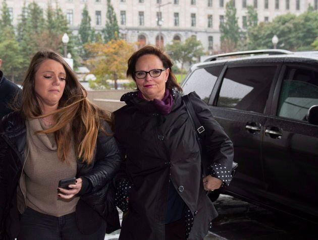 La ministre Lucie Charlebois a été défaite dans Soulanges par la candidate caquiste Marilyne