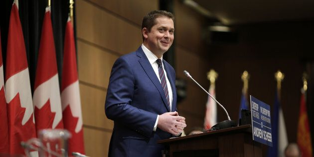 Andrew Scheer, chef du Parti