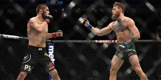 UFC: Nurmagomedov bat McGregor et déclenche une bagarre