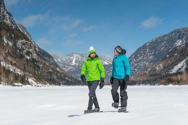 Les patinoires et les sentiers de neige les plus romantiques au